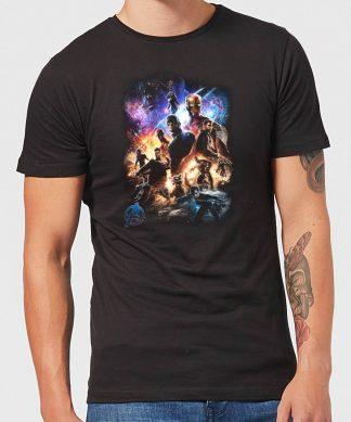 T-shirt Avengers Endgame Character Montage - Homme - Noir - XS chez Casa Décoration