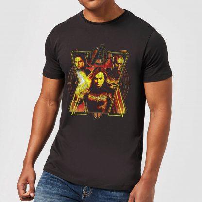 T-shirt Avengers Endgame Distressed Sunburst - Homme - Noir - XS - Noir chez Casa Décoration