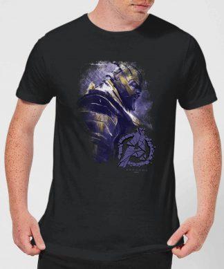 T-shirt Avengers Endgame Thanos Brushed - Homme - Noir - XS chez Casa Décoration