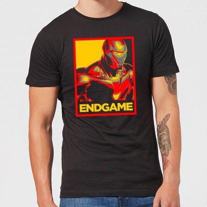 Avengers Endgame Iron Man Poster Men's T-Shirt - Black - XS - Noir chez Casa Décoration