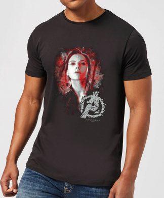 T-shirt Avengers Endgame - Widow Brushed - Homme - Noir - XS - Noir chez Casa Décoration