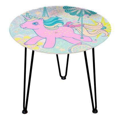 Table en bois Decorsome - Mon Petit Poney - Noir chez Casa Décoration