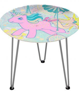 Table en bois Decorsome - Mon Petit Poney - Silver chez Casa Décoration