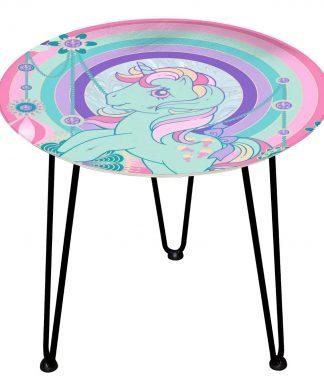Table en bois Decorsome - Mon Petit Poney Bijoux - Noir chez Casa Décoration