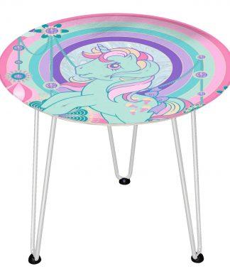 Table en bois Decorsome - Mon Petit Poney Bijoux - Blanc chez Casa Décoration