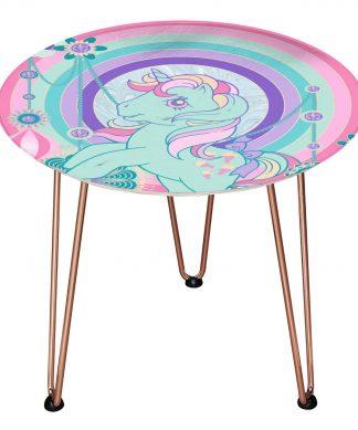 Table en bois Decorsome - Mon Petit Poney Bijoux - Rose gold chez Casa Décoration