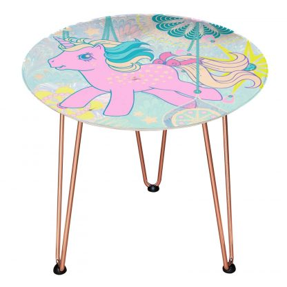 Table en bois Decorsome - Mon Petit Poney - Doré chez Casa Décoration