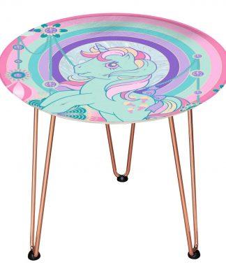 Table en bois Decorsome - Mon Petit Poney Bijoux - Doré chez Casa Décoration