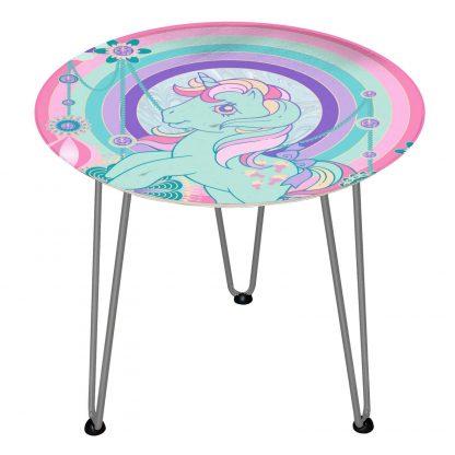 Table en bois Decorsome - Mon Petit Poney Bijoux - Silver chez Casa Décoration