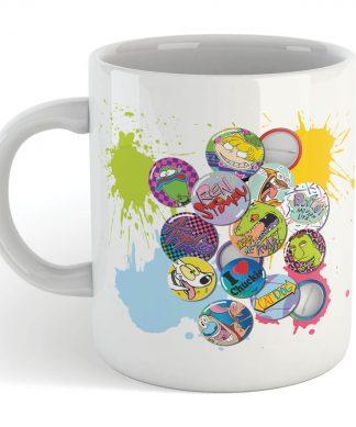 Tasse Nickelodeon Badges chez Casa Décoration