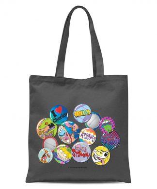 Tote Bag Nickelodeon Nostalgia - Gris chez Casa Décoration