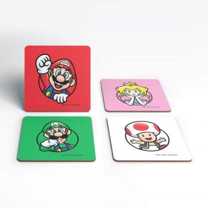 Dessous de Verre Super Mario Good Guys Nintendo chez Casa Décoration