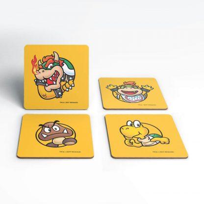 Dessous de Verre Super Mario Koopas Nintendo chez Casa Décoration
