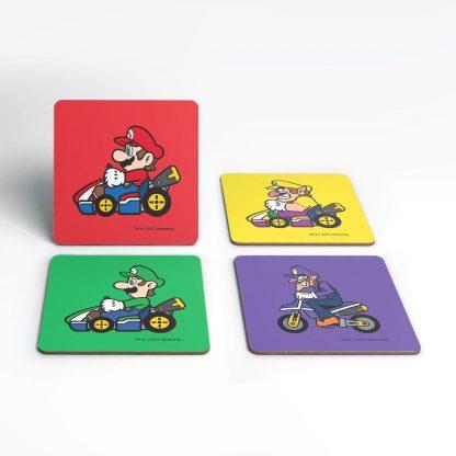 Dessous de Verre Mario Wario Nintendo chez Casa Décoration