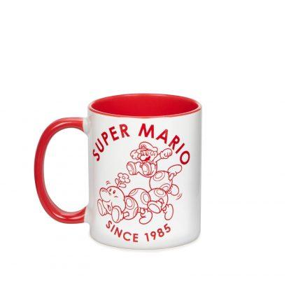 Tasse Nintendo Super Mario Rouge Contrast - Blanc/Rouge chez Casa Décoration