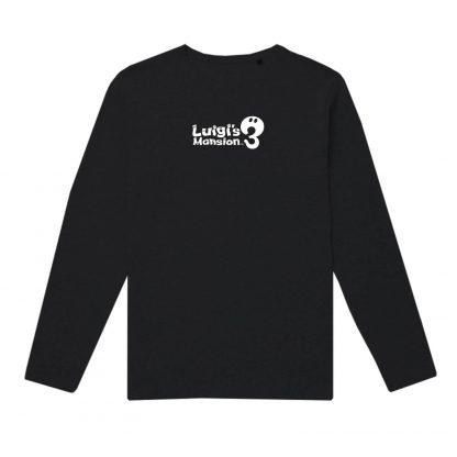 Luigi's Mansion 3 Long Sleeve T-Shirt - Black - XS - Noir chez Casa Décoration