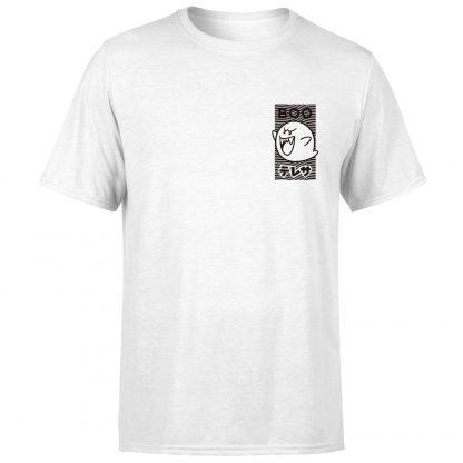 Nintendo Original Hero Boo T-Shirt - White - XS - Blanc chez Casa Décoration