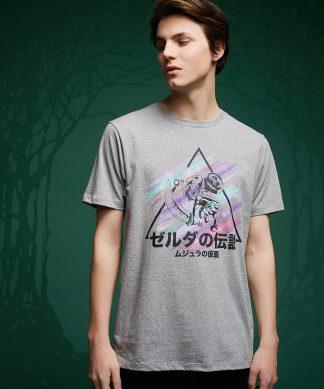 T-Shirt Of Zelda Le Masque de Majora - Gris - XS - Gris chez Casa Décoration