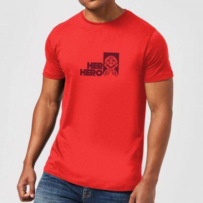 Super Mario Her Hero Men's T-Shirt - Red - XS chez Casa Décoration
