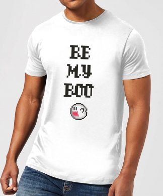 Super Mario Be My Boo Men's T-Shirt - White - XS - Blanc chez Casa Décoration