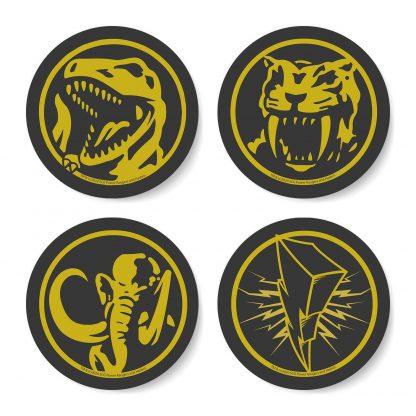 Dessous de verres Power Rangers Dino Coin Tusk chez Casa Décoration