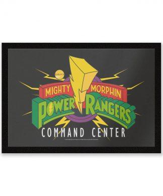 Paillasson Power Rangers Command Center chez Casa Décoration