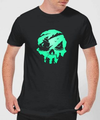 Sea Of Thieves 2nd Anniversary Skull Men's T-Shirt - Black - XS - Noir chez Casa Décoration