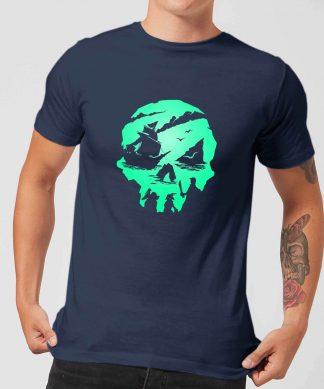Sea Of Thieves 2nd Anniversary Skull Men's T-Shirt - Navy - XS - Navy chez Casa Décoration