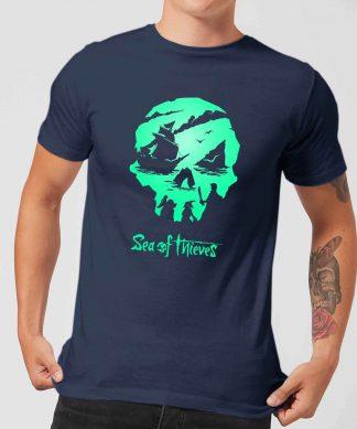 Sea Of Thieves 2nd Anniversary Logo Men's T-Shirt - Navy - XS - Navy chez Casa Décoration
