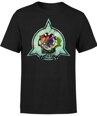 Battle Toads Emblem T-Shirt - Black - XS - Noir chez Casa Décoration