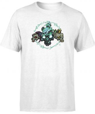 Sea of Thieves Triple Skulls T-Shirt - White - XS chez Casa Décoration