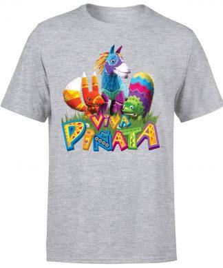 Viva Pinata Group T-Shirt - Grey - XS chez Casa Décoration