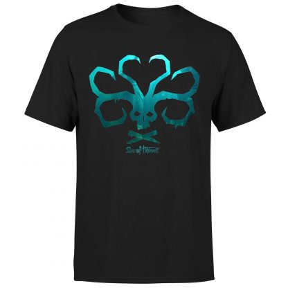 Sea of Thieves Sea Skull T-Shirt - Black - XS chez Casa Décoration