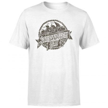 Sea of Thieves Ship Wreck Bay T-Shirt - White - XS chez Casa Décoration