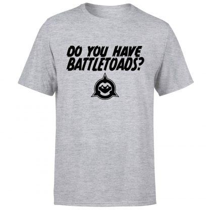 Battle Toads Do You Have Them?! T-Shirt - Grey - XS - Gris chez Casa Décoration