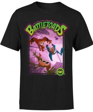 Battle Toads Hop T-Shirt - Black - XS chez Casa Décoration