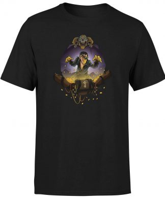 Sea of Thieves Gold Hoarders T-Shirt - Black - XS chez Casa Décoration