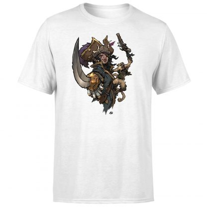 Sea of Thieves Dastardly Duo T-Shirt - White - XS - Blanc chez Casa Décoration