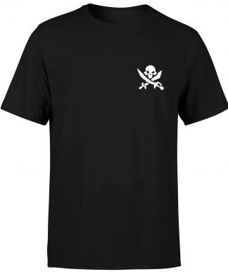 Sea of Thieves Cutlass Embroidery T-Shirt - Black - XS chez Casa Décoration