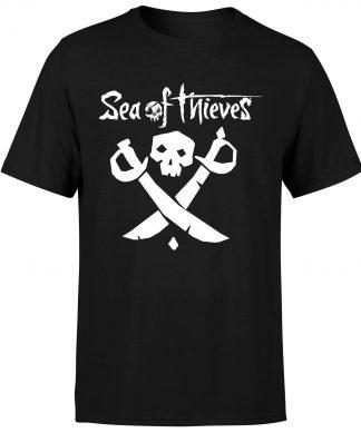 Sea of Thieves Cutlass T-Shirt - Black - XS chez Casa Décoration