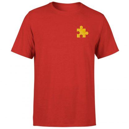 Banjo Kazooie Jiggy Embroidered T-Shirt - Red - XS chez Casa Décoration