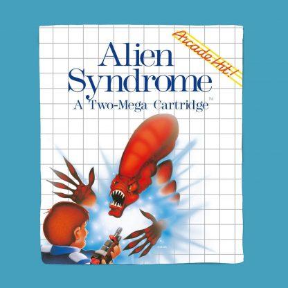 Plaid SEGA Alien Syndrome - S chez Casa Décoration