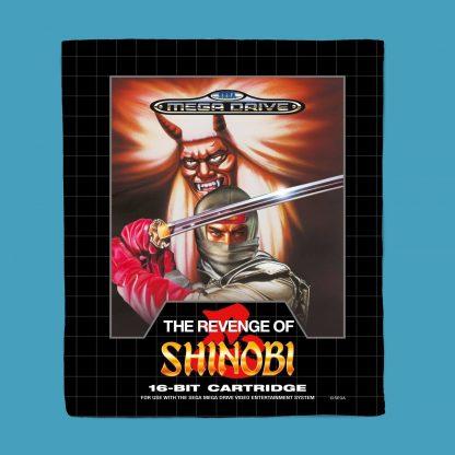 Plaid SEGA Revenge Of Shinobi - S chez Casa Décoration