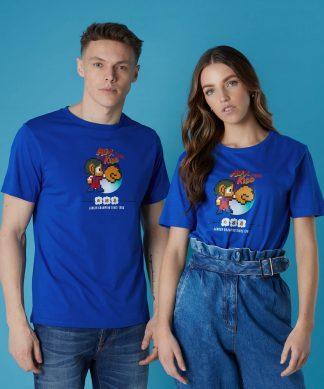 T-shirt Sega Alex Kidd - Bleu - Unisexe - XS - Blanc chez Casa Décoration