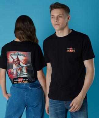T-shirt Sega Revenge Of Shinobi - Noir - Unisexe - XS - Noir chez Casa Décoration