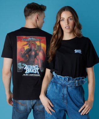 T-shirt Sega Altered Beast - Noir - Unisexe - XS - Noir chez Casa Décoration
