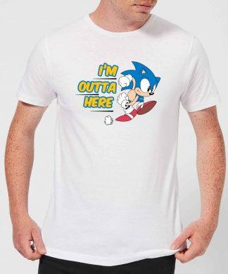 I'm Outta Here Men's T-Shirt - White - XS chez Casa Décoration