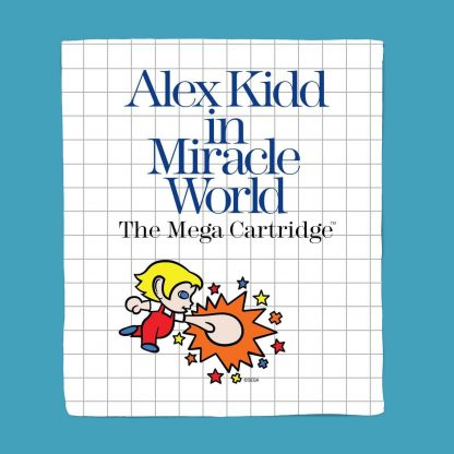 Alex Kidd Bed Throw chez Casa Décoration