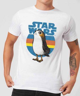 T-Shirt Homme Porg Star Wars - Blanc - XS chez Casa Décoration