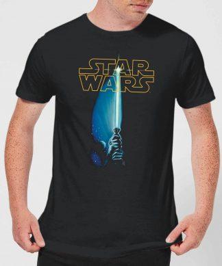 T-Shirt Homme Sabre Laser Star Wars Classic - Noir - XS chez Casa Décoration